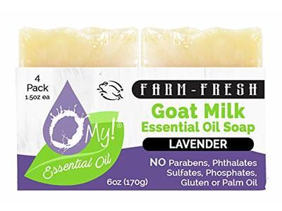 O My! Goat Milk Essential Oil Soap, 6 oz