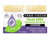 O My! Goat Milk Essential Oil Soap, 6 oz - Image 2