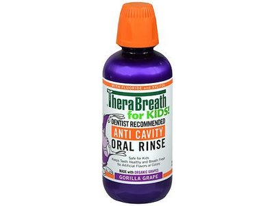 Therabreath for KIDS! Anti-cavity Oral Rinse