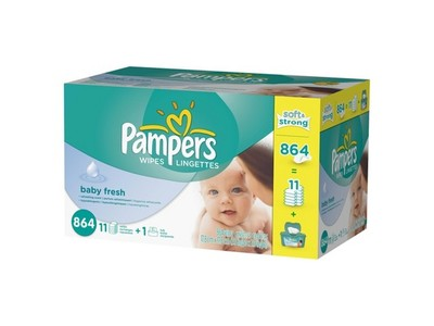 Pampers Wipes Baby Fresh, Procter & Gamble