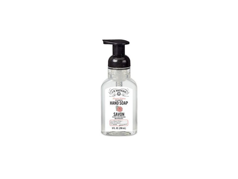 J.R. Watkins Foaming Hand Soap, Desert Rose, 9 Ounces