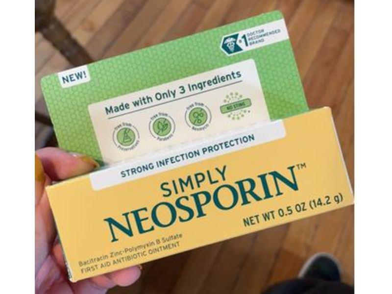 Neosporin Simply Antibiotic Ointment, 0.5 oz/14.2 g