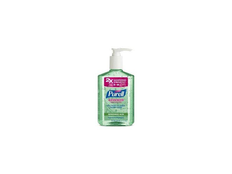 Purell Advanced Hand Sanitizer, Refreshing Aloe, 10 fl oz