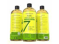 Seven Minerals Pure Castile Soap Unscented & Gentle 33.8 oz. - Image 12