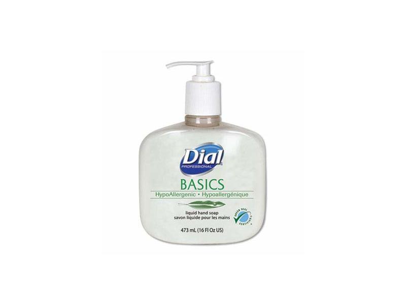 Dial Basics Liquid Hand Soap, 16 Oz