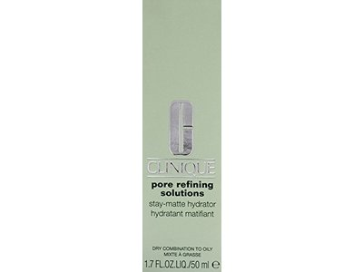 Clinique Pore Refining Solutions Stay-Matte Hydrator Dry Combination To Oily Skin Scrub, 1.7 Ounce - Image 4