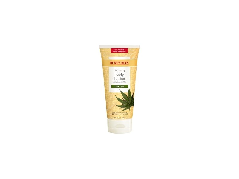 Burt's Bees Hemp Body Lotion with Hemp Seed Oil for Dry Skin
