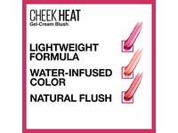 Maybelline Cheek Heat Gel-Cream Blush, Berry Flame, 0.27 oz - Image 9