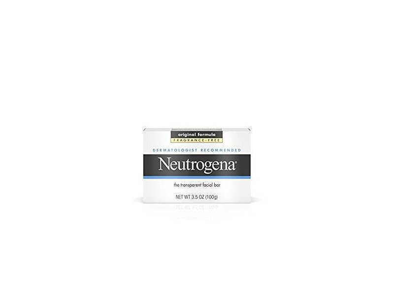 Neutrogena Facial Cleansing Bar, Fragrance-Free, 3.5 oz