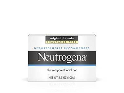 Neutrogena Facial Cleansing Bar, Fragrance-Free, 3.5 oz