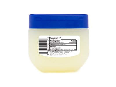 Solimo Petroleum Jelly White Petrolatum Skin Protectant, Unscented, 7.5 oz (Pack of 4) - Image 3