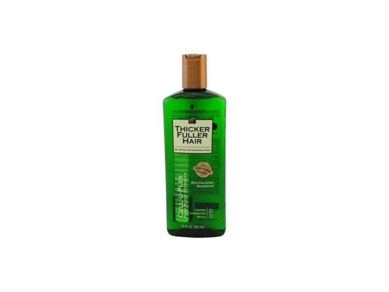 Thicker Fuller Hair Revitalizing Shampoo, 12 Fluid Ounce -- 6 per case.