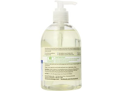 Clearly Natural Liquid Glycerine Soap, Unscented, 12 Ounce - Image 4