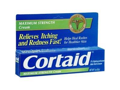 Cortaid Maximum Strength Cream, 1 oz