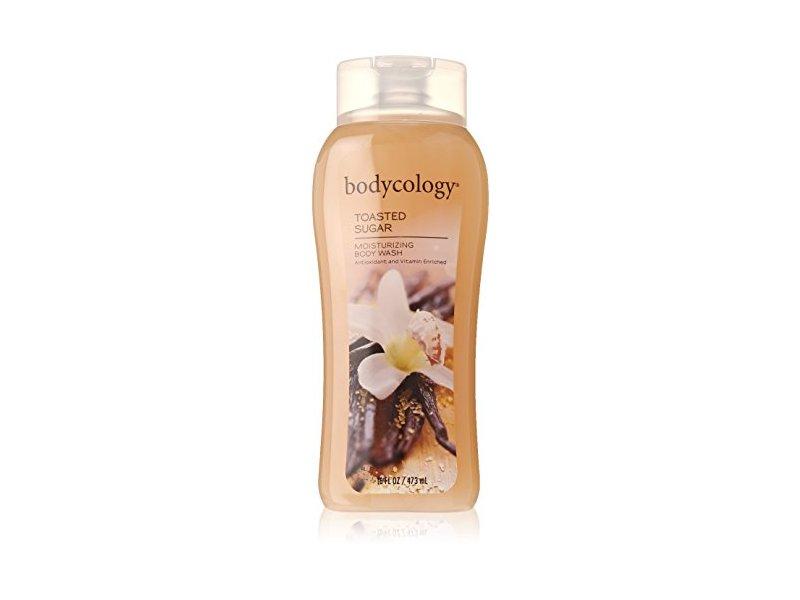 Bodycology Moisturizing Body Wash ,Toasted Sugar, 16 fl oz