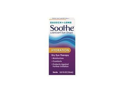 Bausch + Lomb Soothe Hydration Lubricant Eye Drops, 0.5 fl oz