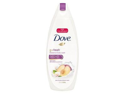 Dove Go Fresh Rebalance Body Wash With Nutrium Moisture, Plum & Sakura Blossom