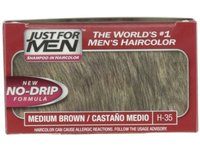 Just for Men Shampoo-In Hair Color, Medium Brown 35 - Image 3