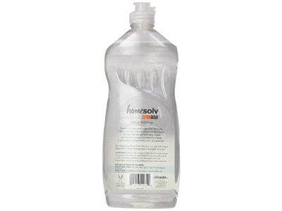 Citrasolv Homesolv Natural Dish Soap, Free & Clear, 25 Fluid Ounce - Image 4