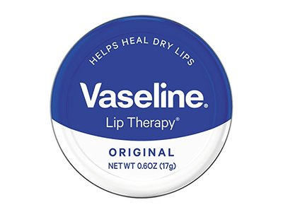 Vaseline Lip Therapy Original Tin, 0.6 oz (Pack of 2)