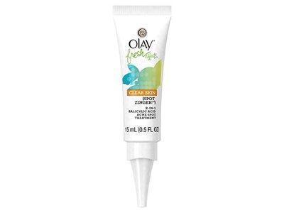 Olay Fresh Effects Clear Skin Spot Zinger 2-in-1 Salicylic Acid, Citrus/Mint, 0.5 Fluid Ounce
