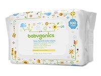 Babyganics Face, Hand & Baby Wipes, Fragrance Free - Image 2