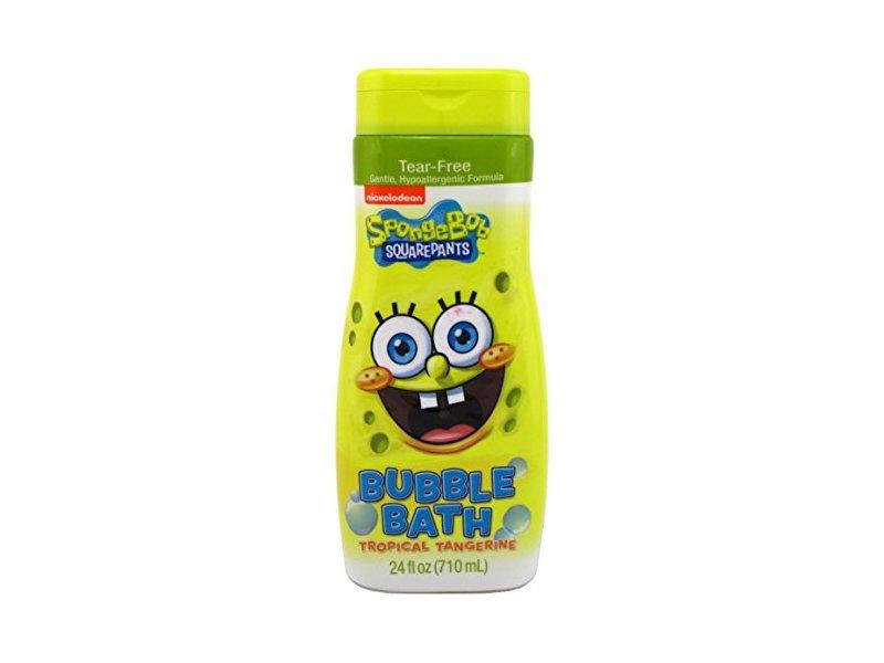 Spongebob Bubble Bath, Tropical Tangerine, 24 fl oz
