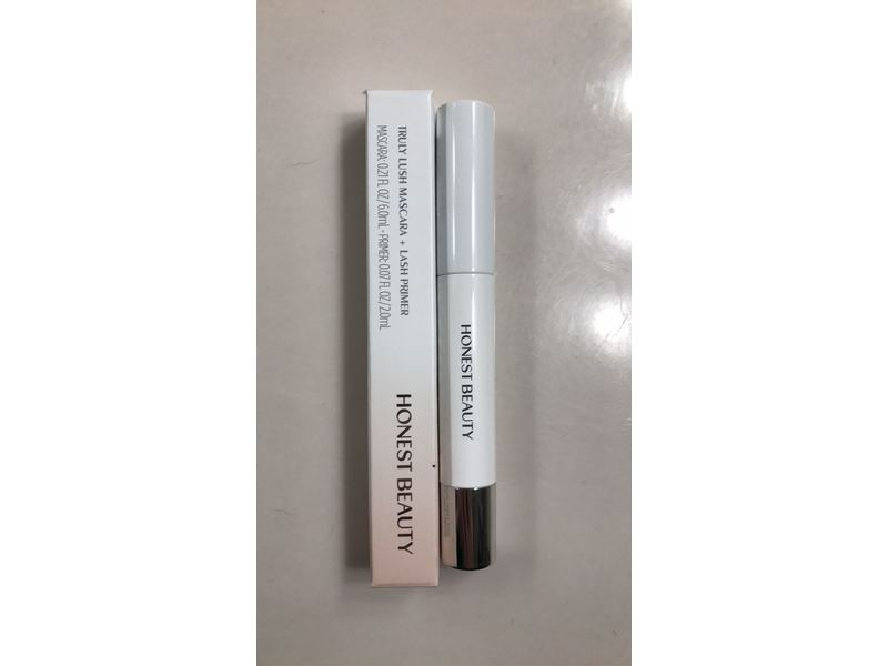 4a3845c7aeb Honest Beauty Truly Lush Mascara + Primer, Black, 0.28 oz Ingredients and  Reviews
