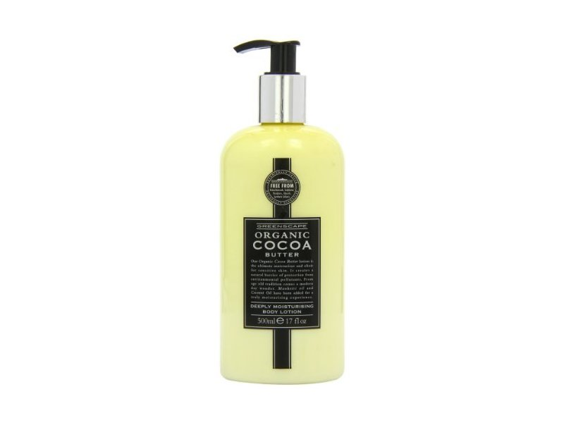 Greenscape Organic Cocoa Butter Deeply Moisturising Body Lotion, 500ml