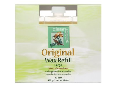 Clean + Easy Original Wax Refills, 2.8 oz - Pack of 12