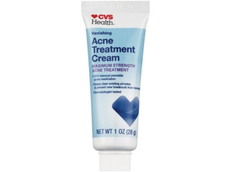CVS Health Acne Treatment Cream With 10% Benzoyl Peroxide Maximum Strength