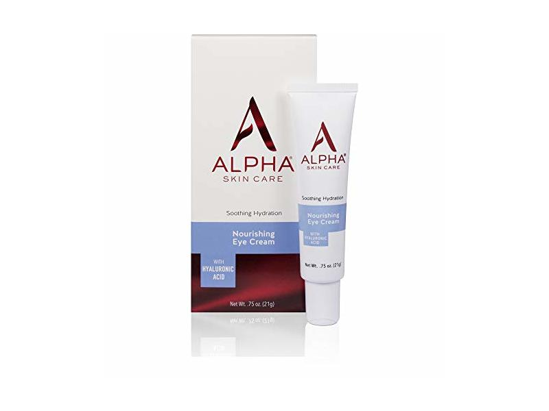 Alpha Skin Care Nourishing Eye Cream with Hyaluronic Acid, .75 oz