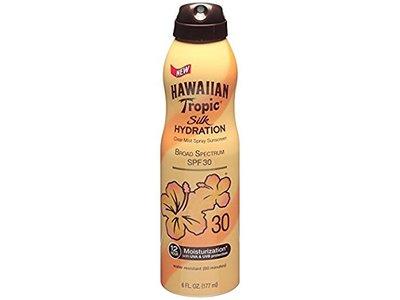 Hawaiian Tropic Sunscreen Sheer Touch Broad Spectrum Sun Care Sunscreen Spray - SPF 30, 6 Ounce