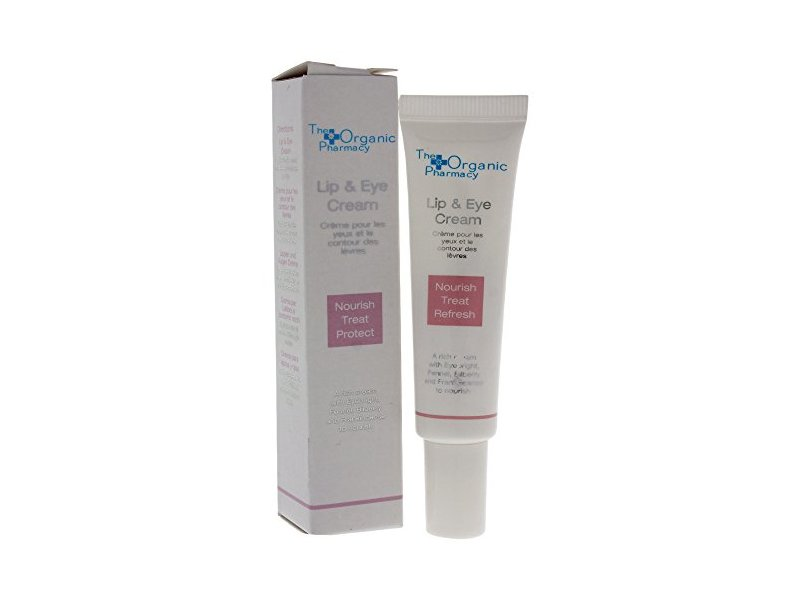 The Organic Pharmacy Lip & Eye Cream, 0.35 Ounce