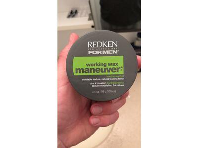 Redken For Men Working Wax Maneuver, 3.4 oz - Image 3