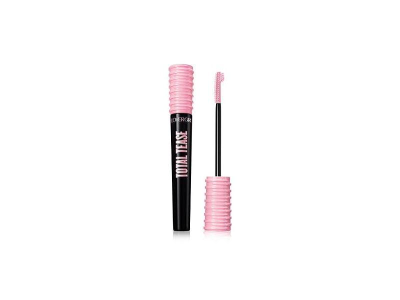 CoverGirl Total Tease Waterproof Mascara, Very Black, 0.21 fl oz