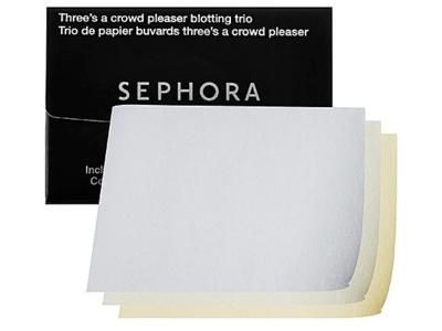 Sephora Three's A Crowd Pleaser Blotting Trio