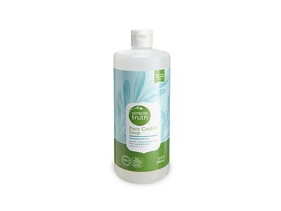 Simple Truth Pure Castile Soap, Unscented, 32 fl oz