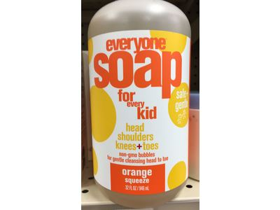 Everyone Soap for Everyday Kid, Orange Squeeze, 32 fl oz - Image 3