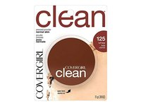 CoverGirl Clean Pressed Powder Compact, Buff Beige 125, 0.39 oz - Image 2