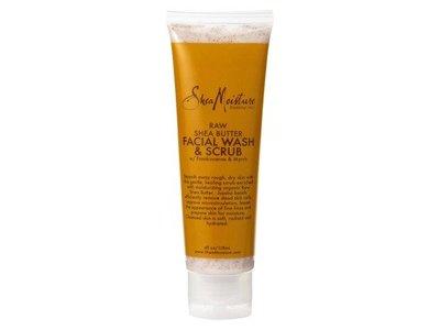 SheaMoisture Raw Shea Butter Facial Wash & Scrub - 4 oz