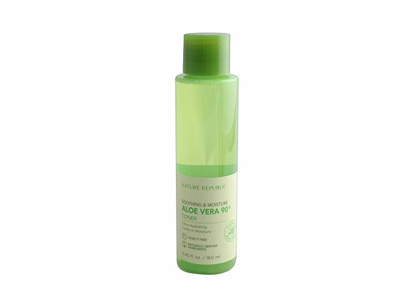 Nature Republic Soothing & Moisture Aloe Vera Toner- 5.41oz