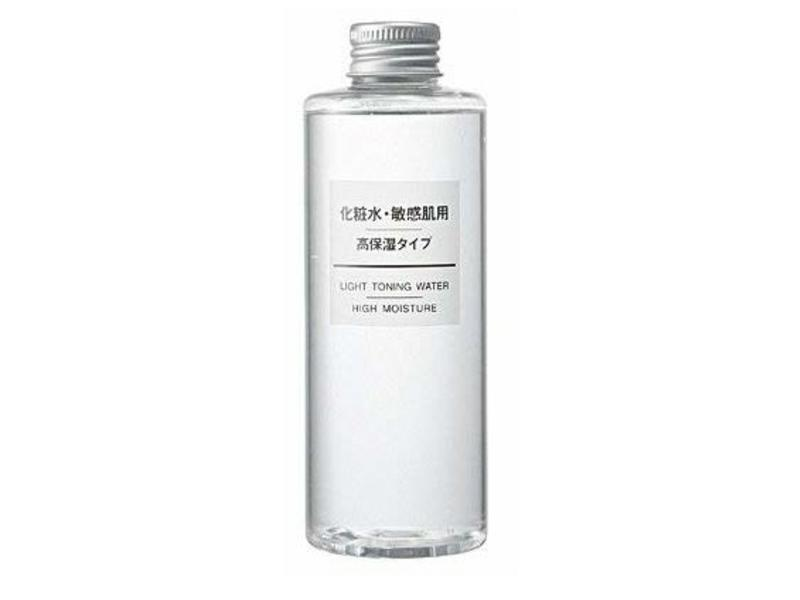 Muji Cosmetic Light Toning Water High Moisturizing, Sensitive Skin, 200 mL