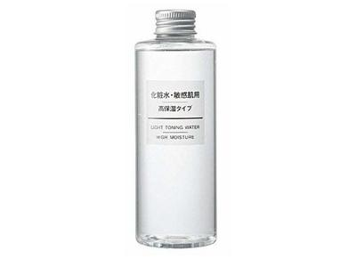 Muji Cosmetic Light Toning Water High Moisturizing, Sensitive Skin, 200 mL