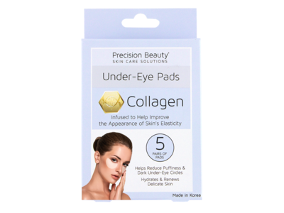 Precision Beauty Under Eye Pads, Collagen, 5 count