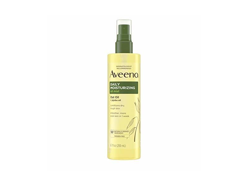 Aveeno Daily Moisturizing Dry Body Oil Mist with Oat and Jojoba Oil, 6.7 oz