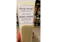 Deep Steep Body Lotion, Pure Coconut, 8 Ounce - Image 5