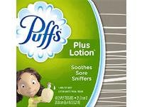 Puffs Plus Lotion Facial Tissue, White, 48 Count - Image 2