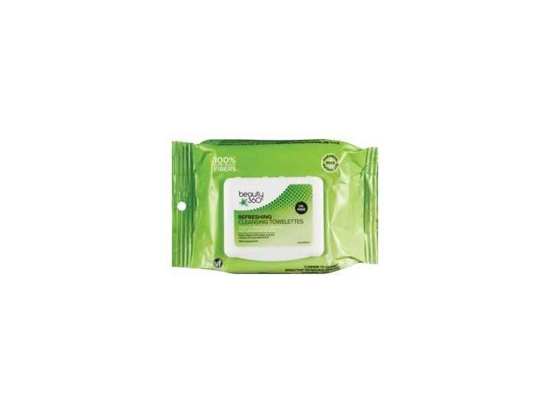 Beauty 360 Refreshing Facial Towelettes