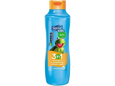 Suave Muppets Apple 3-In-1 Shampoo-Conditioner and Body Wash for Kids, 22.5 Ounce